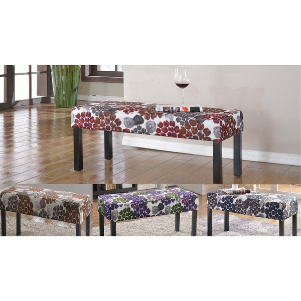 Attractive Alma Fabric Upholstered Decorative Bench
