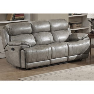 Beau Estella Contemporary Reclining Sofa With 2 Recliners