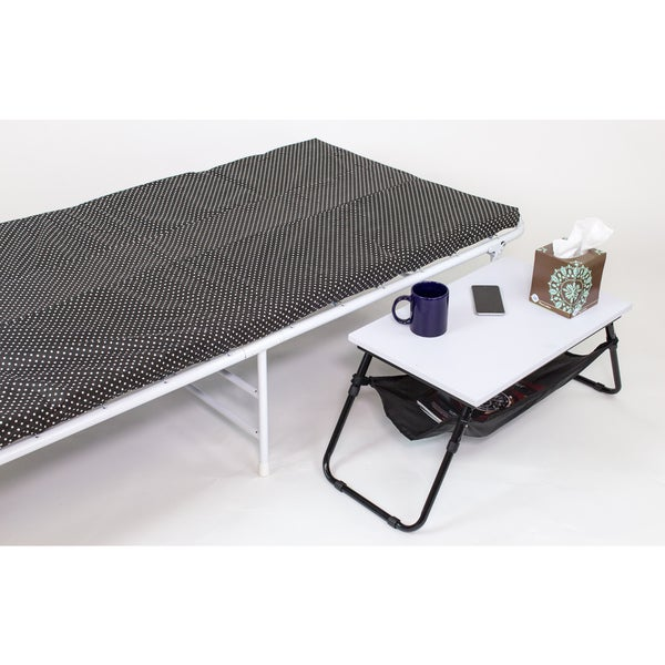 iBED Folding Side Table for cot guest beds