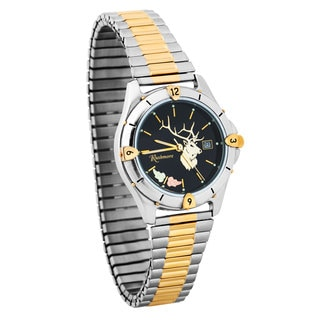 Men's Black Hills Gold Elk Watch