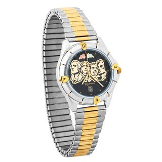Mens Black Hills Gold Mt Rushmore Watch