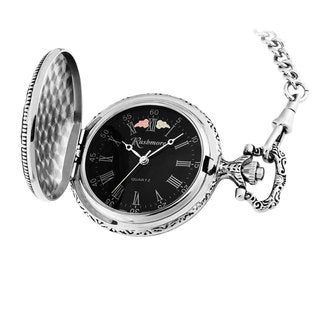 Men's Black Hills Gold Mt Rushmore Pocket Watch
