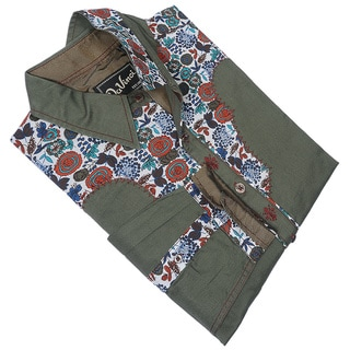 Da Vinci Men's 70's Vintage-Sstyle Western Shirt