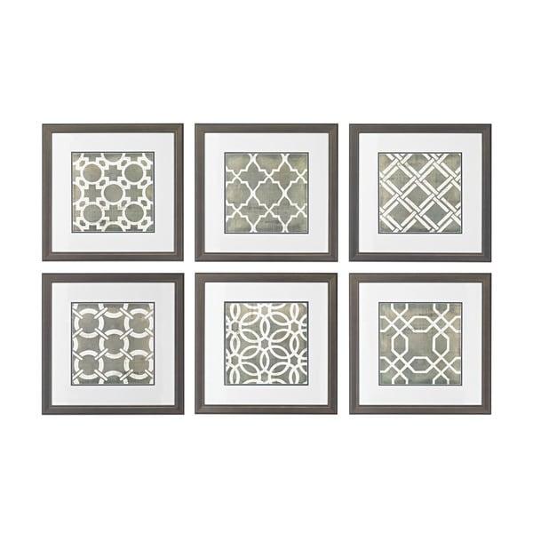 Blueprint Wall Art symmetry blueprint framed printed wall art - free shipping today