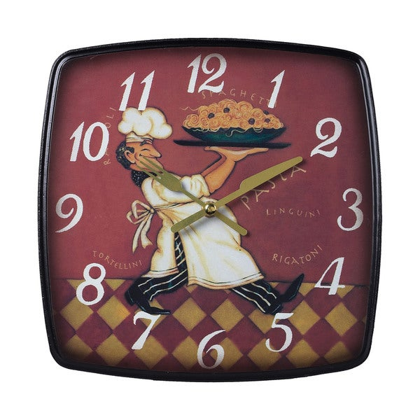 Magnificent Busy Chef Clock Home Interior And Landscaping Transignezvosmurscom