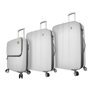 Mia Toro Italy Mezza Tasca 3-piece Expdanable Hardside Spinner Luggage Set