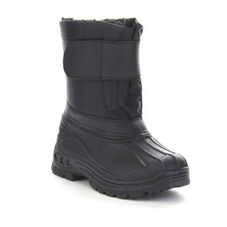 Beston Ga93 Girl Winter Waterproof Athletic Hook-and-loop Strap Mid Calf Boots