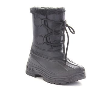 Beston Gb03 Girls'Winter Waterproof Lace Up Mid Calf Warm Boots|https://ak1.ostkcdn.com/images/products/10858543/P17897632.jpg?impolicy=medium