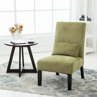 Green living room chairs shop the best deals for may 2017 for Armless living room chairs