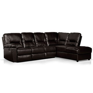 2-Piece Recliner and Chaise Sectional