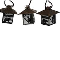 Rivers Edge Rustic Lantern 10-piece Light Set