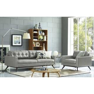 Blake Antique Grey Living Room Set