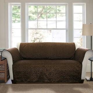 Lush Decor Animal Plush Loveseat Furniture Protector