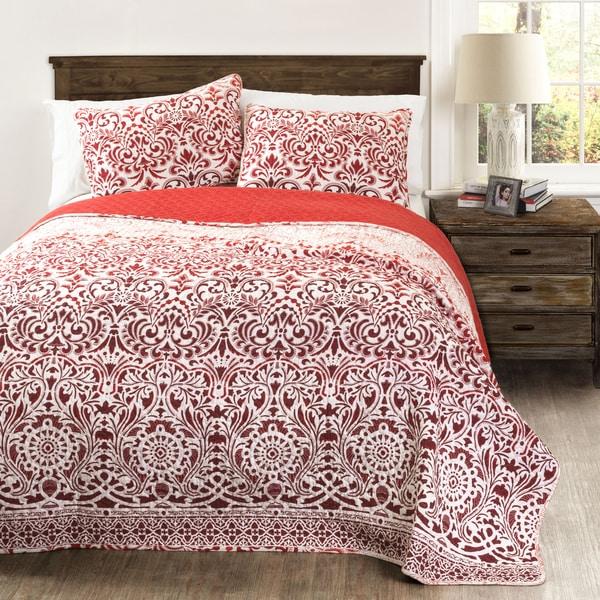 Lush Decor Galacia 3-piece Quilt Set