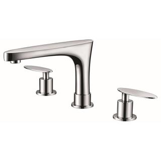 8-in. o.c. CUPC Approved Brass Faucet In Chrome Color