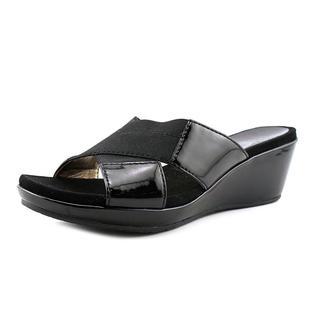 Circa Joan & David Women's 'Petria' Patent Wedges Sandals