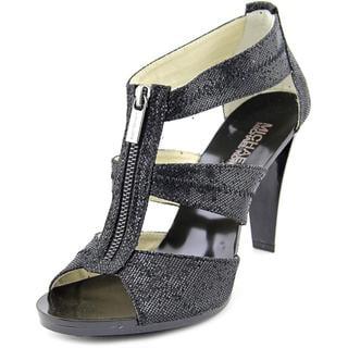 Michael Michael Kors Women's 'Berkley T Strap' Basic Textile Sandals