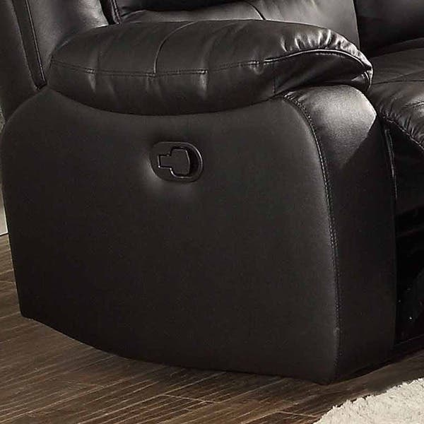 Swell Shop Bennett Black Leather Reclining Sofa On Sale Free Dailytribune Chair Design For Home Dailytribuneorg
