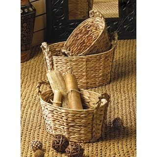 Daffodil Braided Storage Nesting Baskets