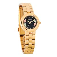 12k Black Hills Gold Women's Goldtone Watch