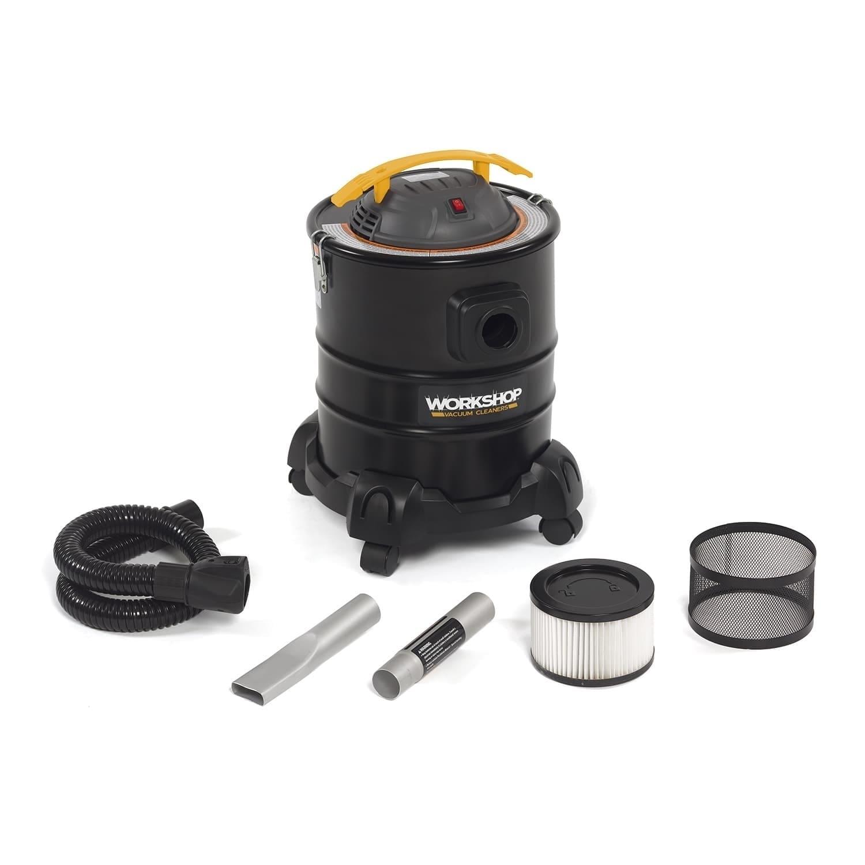 Workshop WS0500ASH 3.0 Peak HP, 5 gal. Ash Vacuum (Black,...