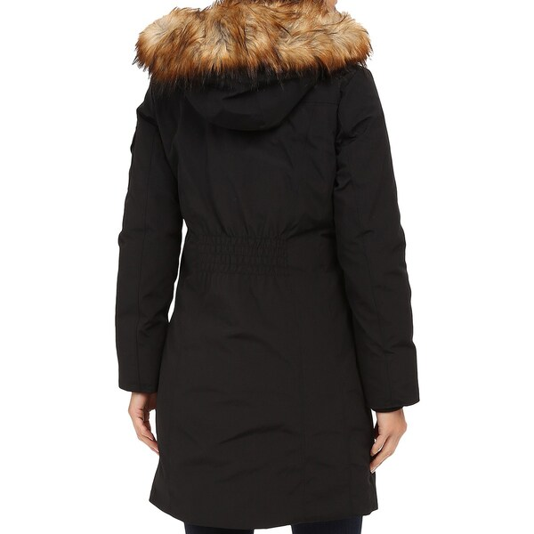 Michael Kors Women's Black Parka Coat - Free Shipping Today ...