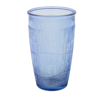 French Home 10-ounce Sapphire Blue Birch Tumbler (Set of 4)