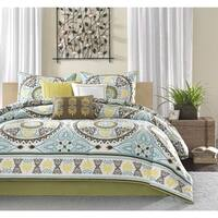 Madison Park Bali 7-piece Comforter Set in King (As Is Item)