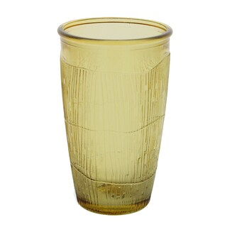 French Home Set of 4, 10-ounce Caramel Birch Tumbler