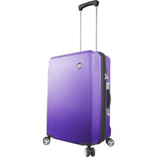 Mia Toro Italy Fibre Di Scatola 25-inch Expandable Hardside Spinner Upright Suitcase