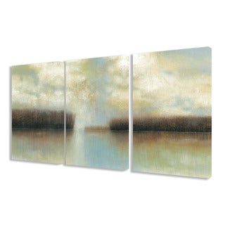 Stupell Winter Solace 3-piece Triptych Canvas Art Set