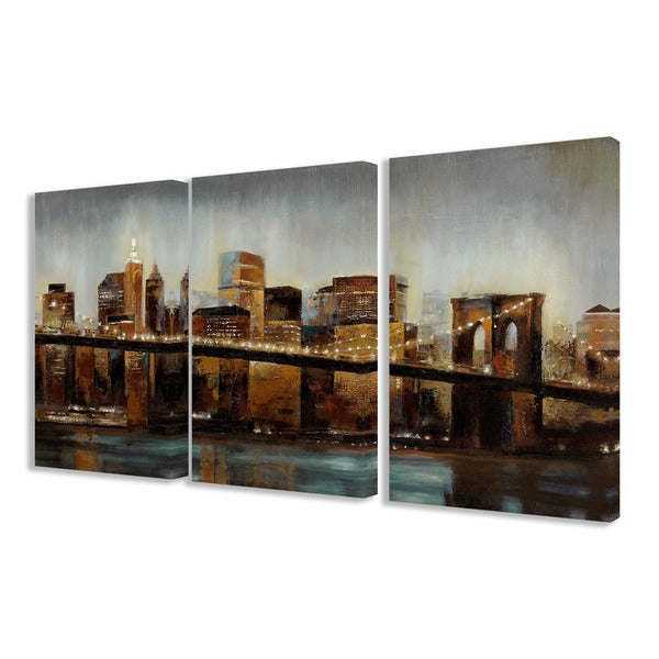 Home Decorators Collection Reviews: Shop Stupell Home Decor Collection Lights On Bridge