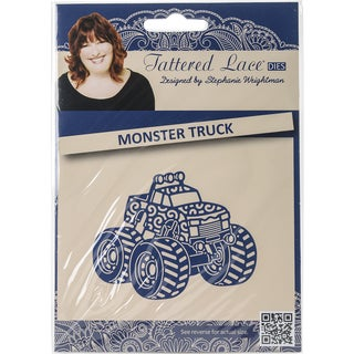 Tattered Lace Metal Die-Monster Truck
