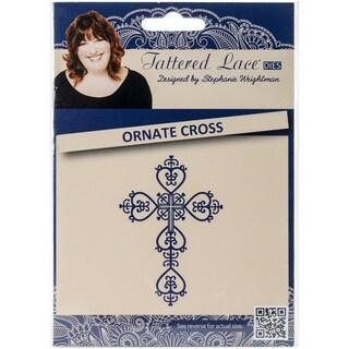 Tattered Lace Metal Die-Ornate Cross