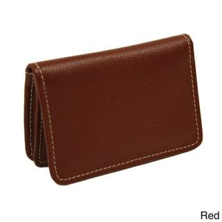 Piel Leather Business Card/I.D. Case