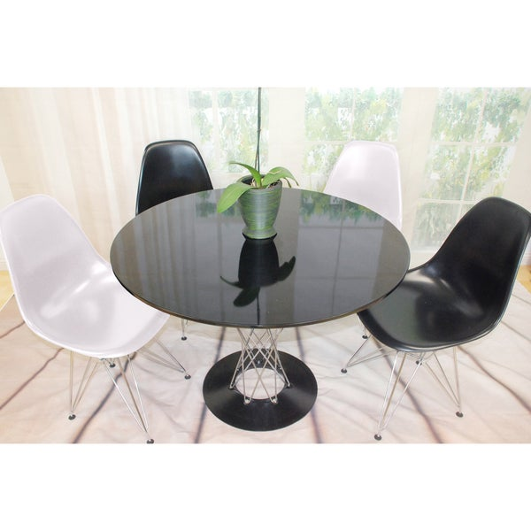 Contemporary Twist 47-inch Dining Set