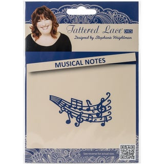 Tattered Lace Metal Die-Musical Notes