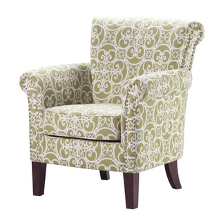 Madison Park Miri Tight Back Club Chair--Green