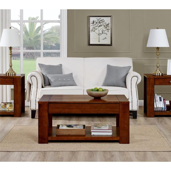 Shop Altra Vermont Farmhouse Lift Up Coffee Table Free Shipping Today