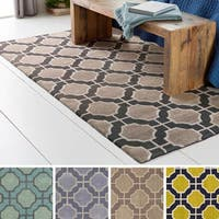 Hand-Tufted Wallace Contemporary New Zealand Wool Area Rug