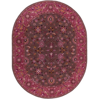 Hand-tufted Ricky Wool Rug (6' x 9' Oval)