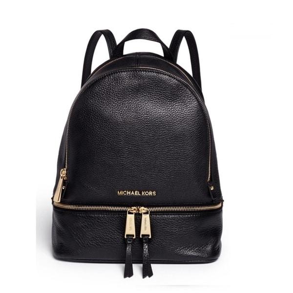 c2d224e5d Shop MICHAEL Michael Kors Rhea Small Leather Backpack - On Sale ...