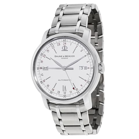 Baume & Mercier Men's MOA08734 'Classima Executives' Automatic Stainless Steel Watch