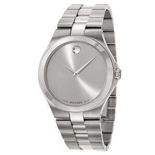 Movado Collection 0606556 Men's Stainless Steel Watch|https://ak1.ostkcdn.com/images/products/10866770/P17904850.jpg?impolicy=medium
