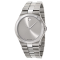 Silvertone Movado Men's Watches
