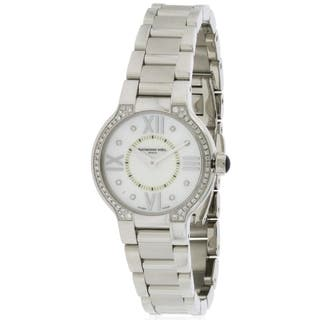 Raymond Weil Noemia 5927-STS-00995 Women's Stainless Steel Watch|https://ak1.ostkcdn.com/images/products/10866781/P17904860.jpg?impolicy=medium
