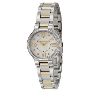 Raymond Weil Noemia 5927-SPS-00995 Women's Stainless Steel and Yellow Gold Plated Watch
