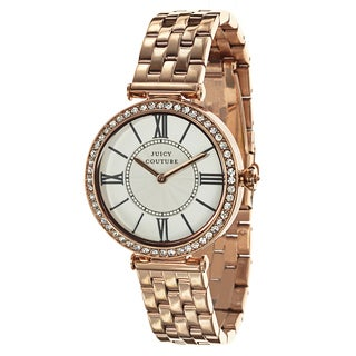 Juicy Couture J Couture 1901128 Women's Stainless Steel Rose Gold Ion Plated Watch