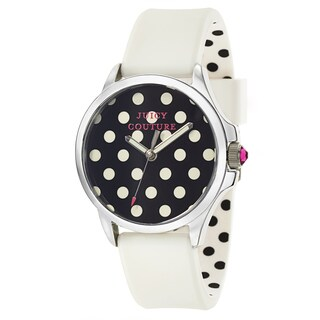 Juicy Couture Women's Jetsetter 1901221 Polkadot Print Watch