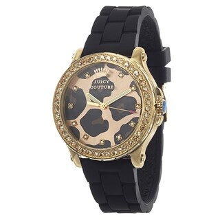 Juicy Couture Pedigree 1901191 Women's Stainless Steel Yellow Gold Ion Plated Watch